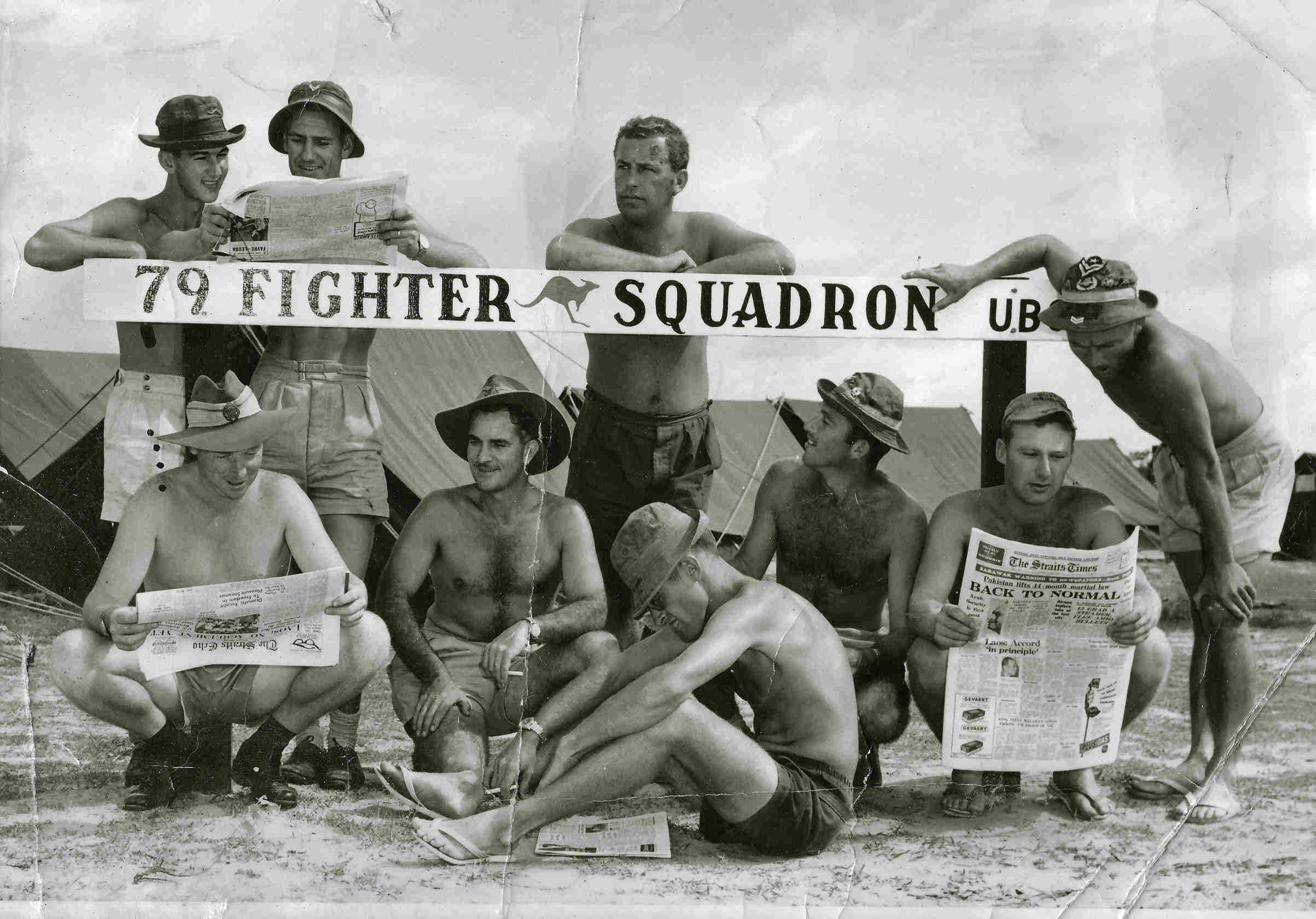 79 Squadron Was Sent To Ubon Help Resist An Expected Invasion Of Thailand By North Vietnamese Forces Although No Attack Eventuated The Squadrons